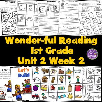 1st Grade Reading Unit 2 Week 2