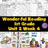 1st Grade Reading Unit 2 Week 4
