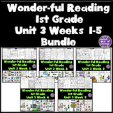 1st Grade Reading Unit 3 Bundle