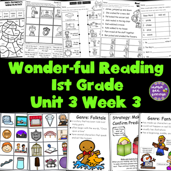 1st Grade Reading Unit 3 Week 3