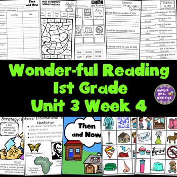 1st Grade Reading Unit 3 Week 4