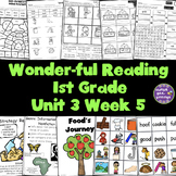1st Grade Reading Unit 3 Week 5