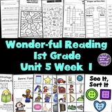 1st Grade Reading Unit 5 Week 1