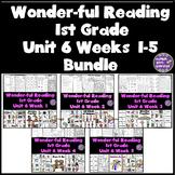 1st Grade Reading Unit 6 Bundle