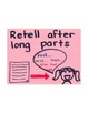 1st Grade Reading Unit 6 Charts & Teaching Points