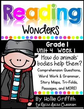 1st Grade Reading Wonders {Grade 1, Unit 4, Week 1}