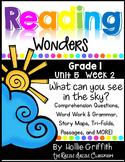 1st Grade Reading Wonders {Grade 1, Unit 5, Week 2}