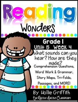 1st Grade Reading Wonders {Grade 1, Unit 5, Week 4}