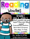 1st Grade Reading Wonders {Grade 1, Unit 5, Week 4}