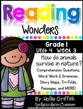 1st Grade Reading Wonders Supplement {Grade 1, Unit 4, Week 3}