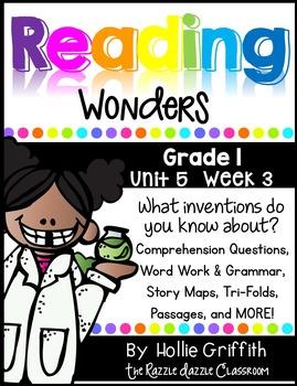 1st Grade Reading Wonders Supplement {Grade 1, Unit 5, Week 3}