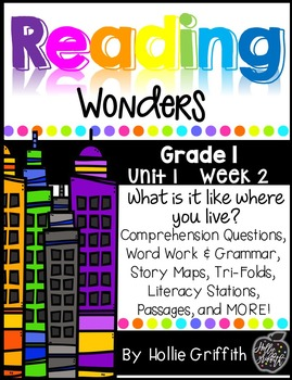 1st Grade Reading Wonders Supplement {Unit 1, Week 2}