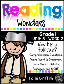 1st Grade Reading Wonders Supplement {Unit 1, Week 3}