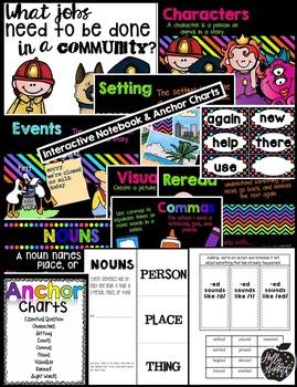 1st Grade Reading Wonders Supplement {Unit 2, Week 1}