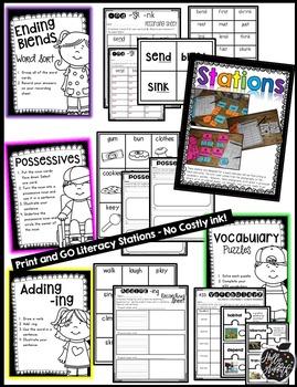 1st Grade Reading Wonders Supplement {Unit 2, Week 3}