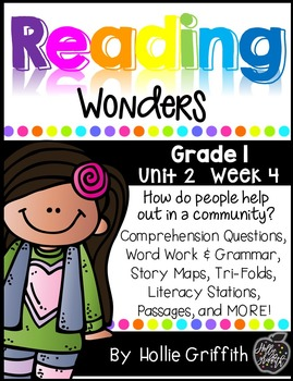 1st Grade Reading Wonders Supplement {Unit 2, Week 4}