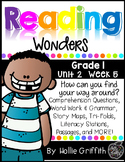 1st Grade Reading Wonders Supplement {Unit 2, Week 5}