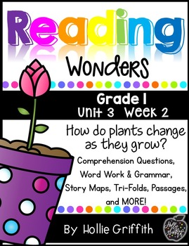 1st Grade Reading Wonders Supplement {Unit 3, Week 2}