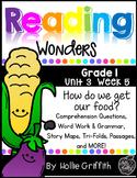 1st Grade Reading Wonders Supplement {Unit 3, Week 5}