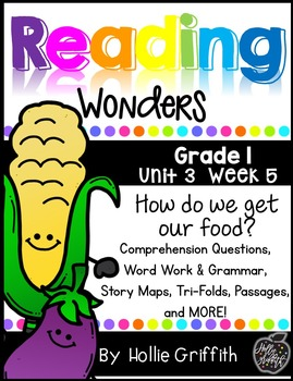 1st Grade Reading Wonders Supplement {Unit 3, Week 5}
