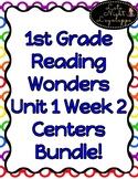 1st Grade Reading Wonders Unit 1 Week 2 Centers Pack!