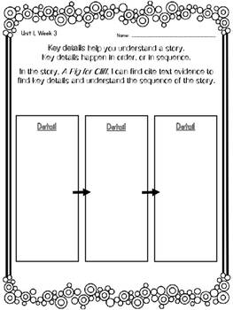 1st Grade Reading Wonders Unit 1 Week 3 Guided Reading & Analytical Writing Pack