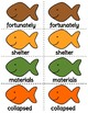 1st Grade Reading Wonders Unit 2 Oral Vocab & High Frequency Word Go Fish Game!