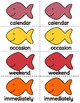 1st Grade Reading Wonders Unit 3 Oral Vocab & High Frequency Word Go Fish Game!