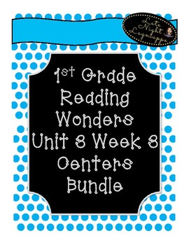 1st Grade Reading Wonders Unit 3 Week 3 Centers Pack!