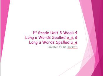 1st Grade Reading Wonders Units 1-6 Phonics Slide Show Bundle