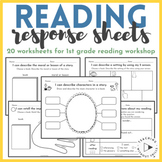 |1st Grade Common Core| Journal Response Pack for Reader's Workshop: Literature
