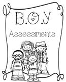 1st Grade Reading and Math Assessment Bundle