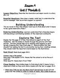 1st Grade ReadyGEN Unit 2 Module A Lesson 4 Outline