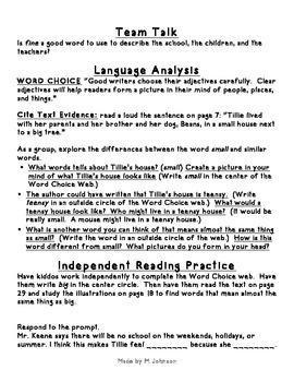 1st Grade ReadyGEN Unit 2 Module A Lesson 5 Outline