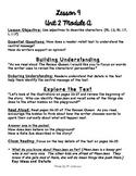 1st Grade ReadyGEN Unit 2 Module A Lesson 9 Outline