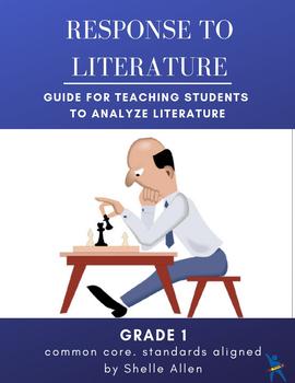 Response to Literature Writing 1st Grade Common Core Writing Lady