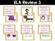 1st Grade End of Year Review Fluency & Fitness Brain Breaks Bundle