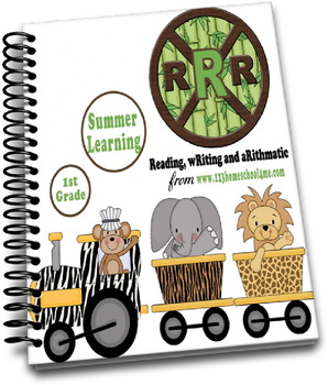 1st Grade Review Worksheets (Reading, Writing, Arithmetic)