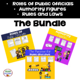 1st Grade: Rules and Laws Bundle