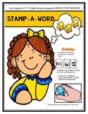 1st Grade STAMP-A-WORD HANDS-ON SPELLING - Aligned with REACH for READING
