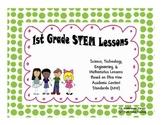 1st Grade STEM Science Ohio New Learning Standards