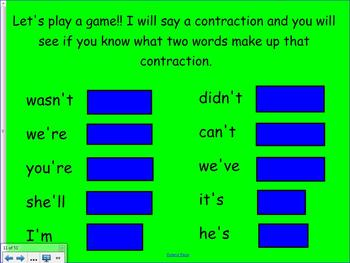 1st Grade Saxon Phonics Lesson 44 Contractions