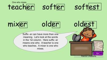 1st Grade Saxon Phonics Lessons 126-129 Google Slides