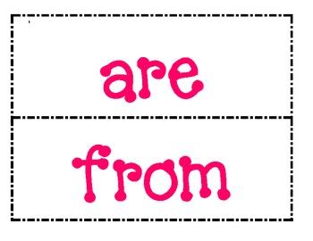 1st Grade Saxon Phonics Saxon Phonics Spelling List 7 Word Wall Words