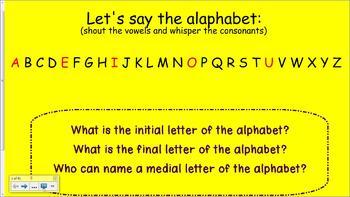 1st Grade Saxon Phonics Smartboard Lesson 26 Letter M