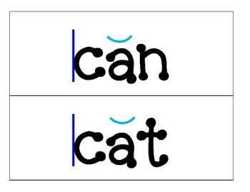 1st Grade Saxon Phonics Spelling List 5