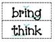 1st Grade Saxon Phonics Spelling List 7 Word Wall Words