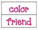 1st Grade Saxon Phonics Spelling List 8 Word Wall Words