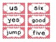 1st Grade Saxon Spelling Lists 11-15 Red Polka Dot Word Cards