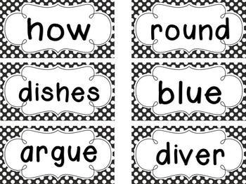 1st Grade Saxon Spelling Polka Dot Word and Sentence Cards Bundle